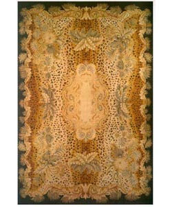 Multi colored woold rug