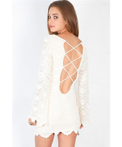 Spanish Priscilla Lace Mini Dress