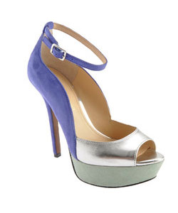 Enzo Angiolini Takeko - Blue Suede Shoes