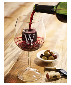 Personalized Self Aerating Wine Gles