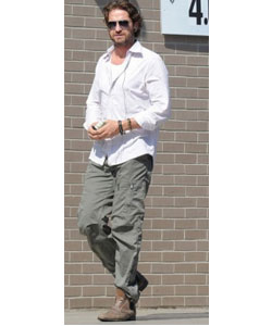 J Brand Aviator Cargo Pant in Vintage Light Sage
