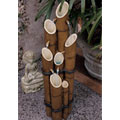 Cascading Bamboo Sculptural Fountain