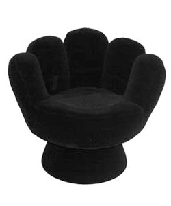 Black Mitt Chair