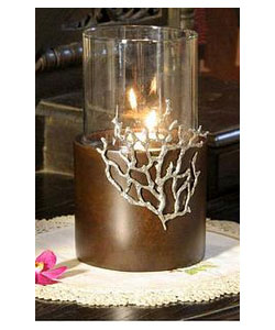 Handcrafted Thai Mango Wood Candle Holder