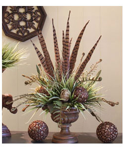 Feather Ball Floral Design