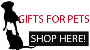 Find Gifts for Pets & People Who Love Their Pets Here!
