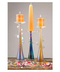 Fusion Z Golden Dew Candlestick Holders