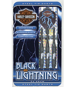 Harley-Davidson® Black Lightning Steel Tip Darts