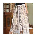 Cotton wrap around skirt, 'Hill Tribe Chic' (Thailand)