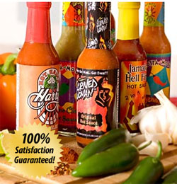 Hot Sauce monthly gift club