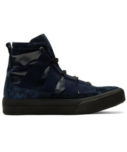 Indigo Fin High-top Sneakers