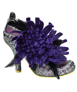 Irregular Choice Mcgillionare (Women's) - Purple Multi Shoe
