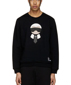 Black Karlito Sweatshirt