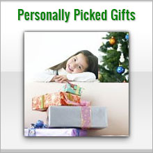 personally picked gifts for kids