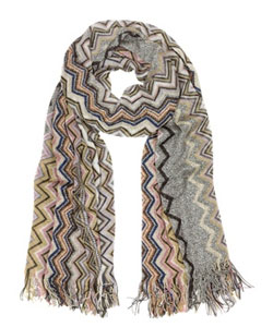 Metallic Viscose Stole