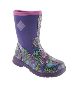 Muck Boots - Breezy Mid Prints - Purple Flower
