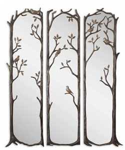 Perching Birds Mirror