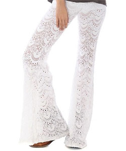 Spanish Lace Fan Pant