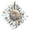 'Solar Radiance' Oversized Steel Sun Sculpture