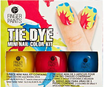 Tie Dye Mini Nail Color Kit