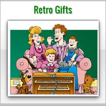 unusual retro gifts